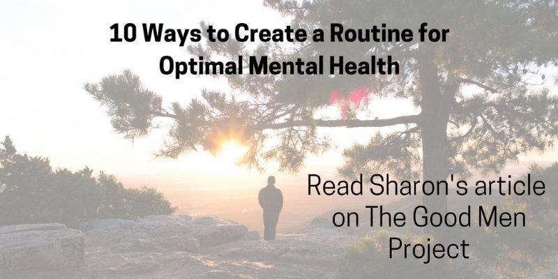 Sharon Martin mental health writer