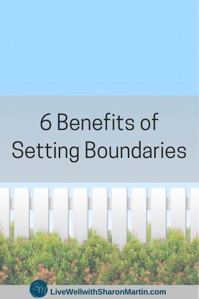 Benefits of Setting Boundaries