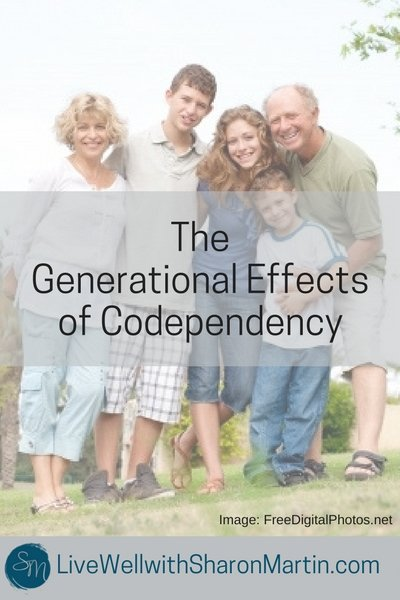 Generational Effects of Codependency. Codependency is passed down from generation to generation. It's possible to be codependent if you had a normal childhood.
