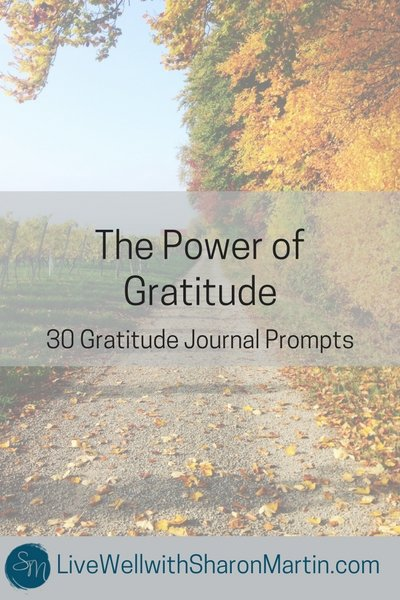 The Power of Gratitude: 30 Gratitude Journal Prompts