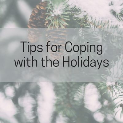 Tips for Coping with the Holidays. 5 printable PDF tip sheets to help you conquer perfectionism, difficult family members, stress, overwhelm, and depression.