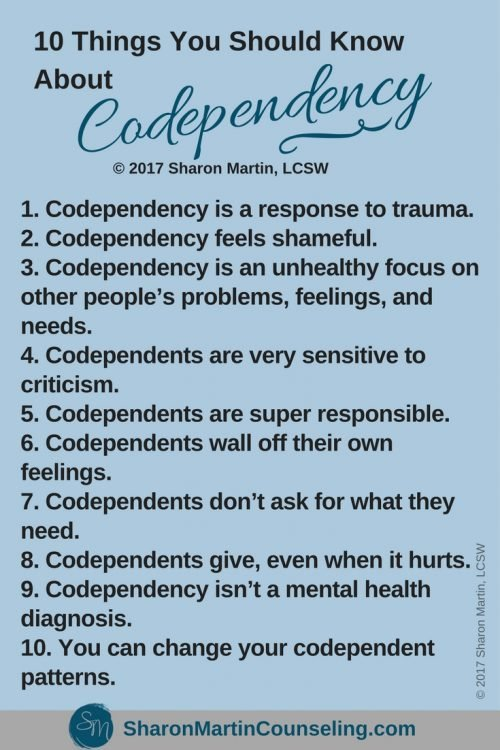 What is Codependency? - Live Well with Sharon Martin
