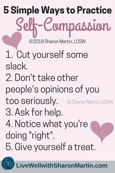 5 Ways to Practice Self Compassion
