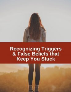 Recognizing your triggers and distorted thoughts