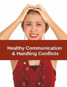 Healthy communication and assertive holiday communication