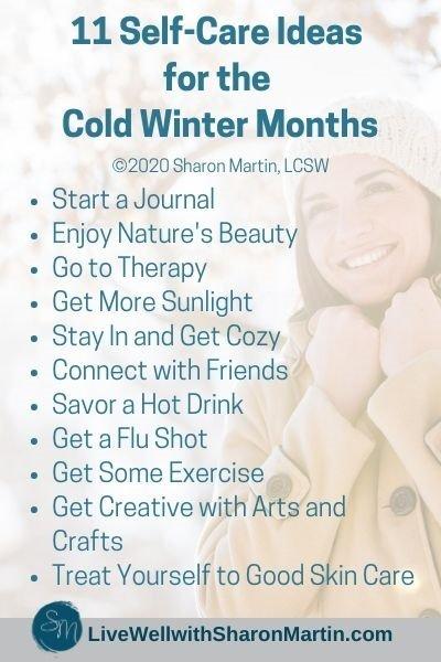 11 winter self-care activities