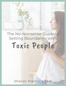 guide to setting boundaries with toxic people