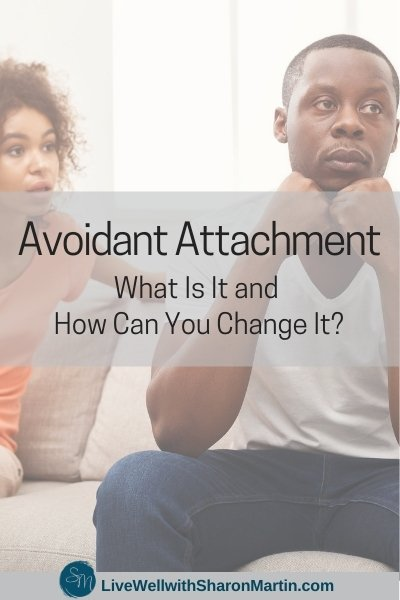 What is an avoidant attachment?