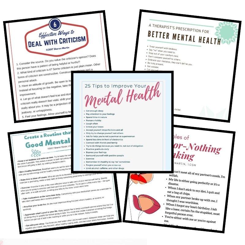 mental health pdf